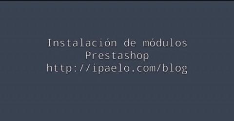 Prestashop: como instalar un módulo.  Alertas por email