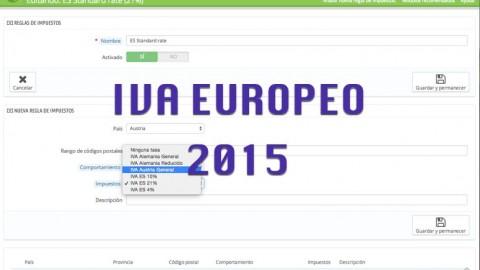 La locura del IVA europeo 2015 en Prestashop