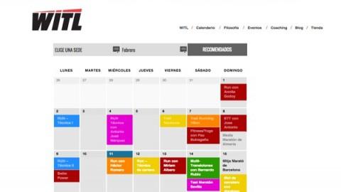 Nuevo proyecto:  Calendario de eventos para Where is the limit.