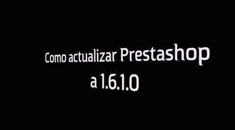 Como actualizar a Prestashop 1.6.1