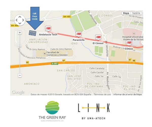 Mapa Edificio el Rayo verde o Green Ray