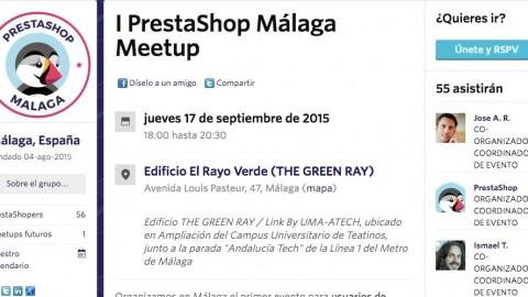 Primer Meetup PrestaShop Málaga