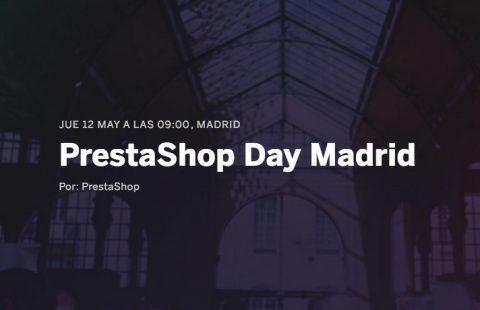 PrestasShop Day Madrid 12 de Mayo 2016